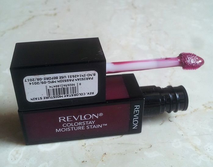 Revlon Colorstay Moisture Stain Parisian Passion Review Swatches price