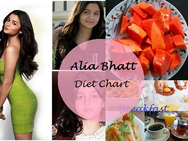 alia bhatt weight loss diet chart breakfast to dinner