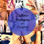 Best Small and Cute Tattoo Designs for Fingers: Ring and Index
