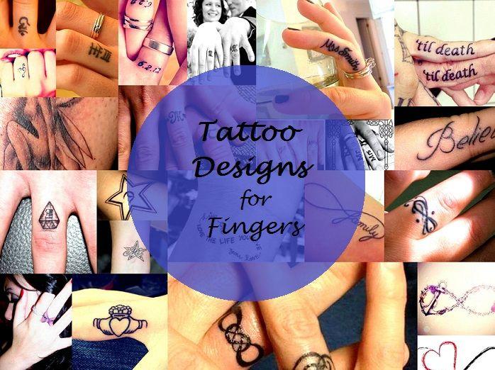 best finger tattoo designs ideas types inspiration