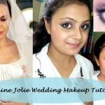 Tutorial: How to Angelina Jolie Pitt Wedding Day Inspired Makeup Look