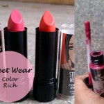 3 Street Wear Color Rich Lipsticks, Lipgloss Reviews and Swatches: Pink Persuasion, Pink Pirouette, Party Melon