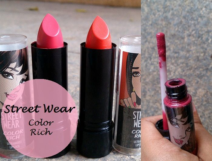 street wear color rich ultra moist lipstick megashine lipgloss reviews swatches blog
