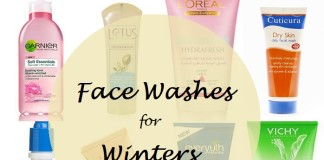 10 best face washes for winter season dry skin