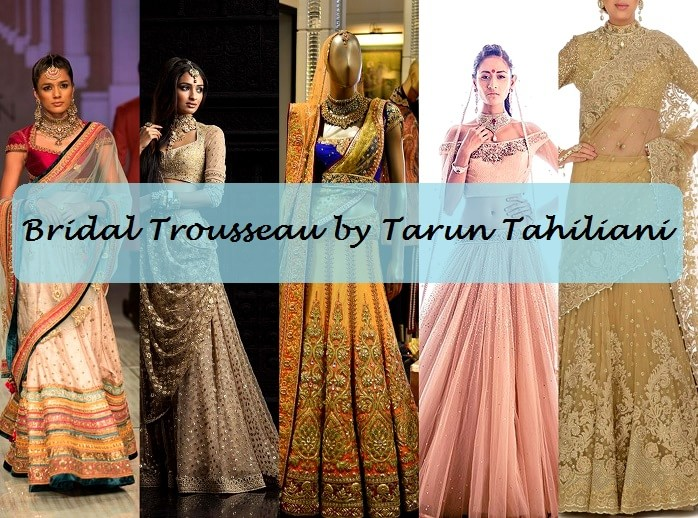 b09b2efe8a 10 Best Tarun Tahiliani Bridal Collection Designs: Lehengas with Prices