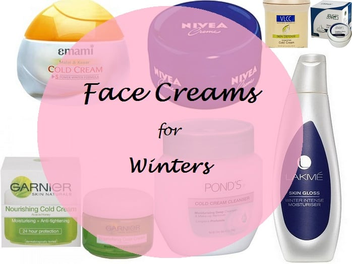 8 Best Cold Creams and Moisturizers for Face in India