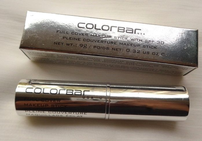 Colorbar Full Cover Makeup Stick Concealer Review