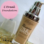 L'Oreal Paris True Match Super Blendable Foundation: Review and Swatches