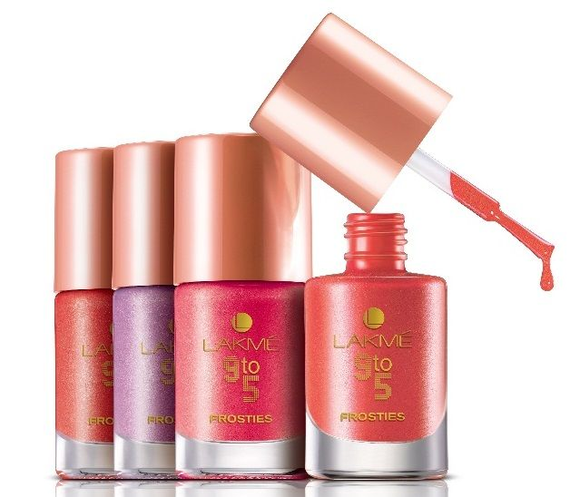 New Lakme 9 To 5 Frosties Nail Enamel Shades And Price