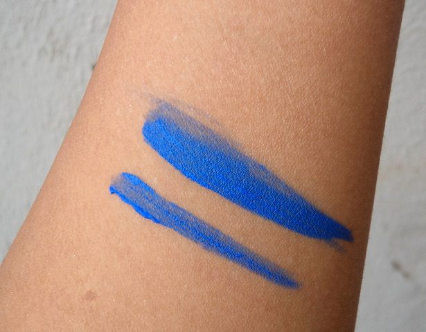 Lakme Absolute Gel Addict Liner Deep Sea Review Swatch