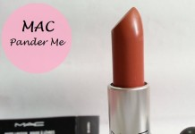 Mac Pander Me Matte Lipstick Review