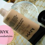 NYX Stay Matte But Not Flat Liquid Foundation: Review and Swatches