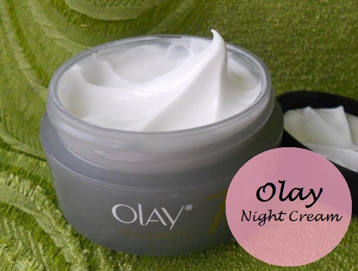 Olay Total Effects 7 in 1 Anti Ageing Night Cream Review price