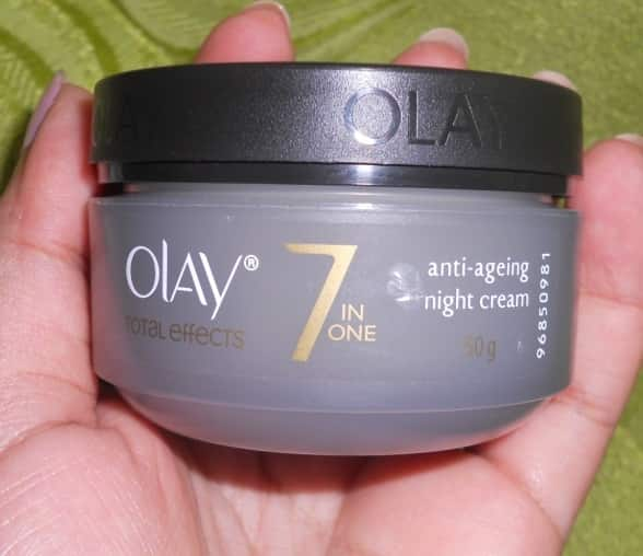 Olay Total Effects 7 in 1 Anti Ageing Night Cream Review