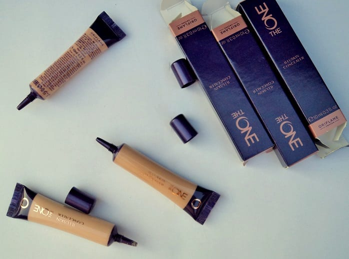 Oriflame-The-One-Illuskin-Concealer-Review-Swatches-india