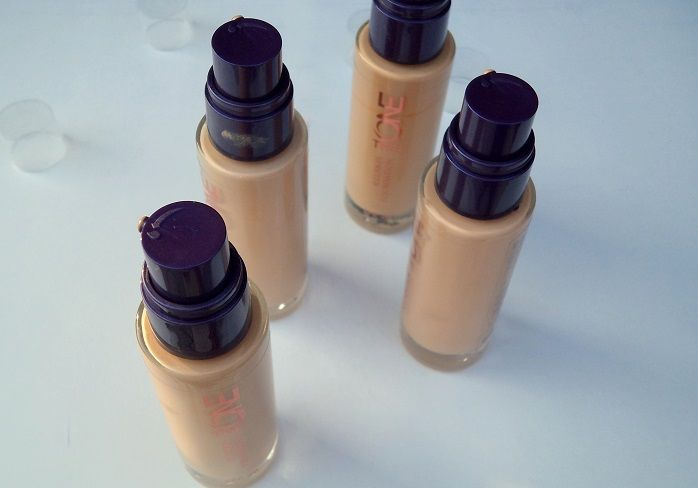 Oriflame The One illuskin foundation review swatches india