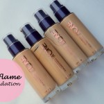 Oriflame The One Illuskin Foundation Review, Swatches: Natural Beige, Olive Beige, Porcelain, Nude Pink