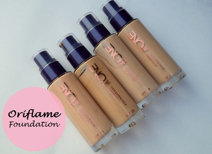 Oriflame The One illuskin foundation review swatches price