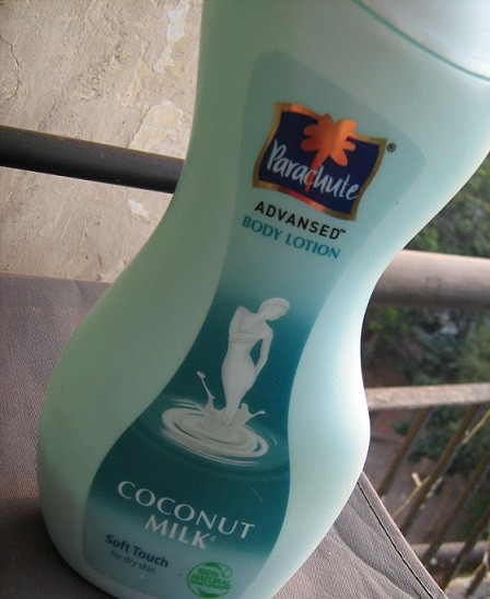 Parachute-Advansed-Soft-Touch-Body-Lotion-Dry-Skin-Coconut-Milk-Review