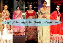 top 10 manish malhotra bridal collection designs