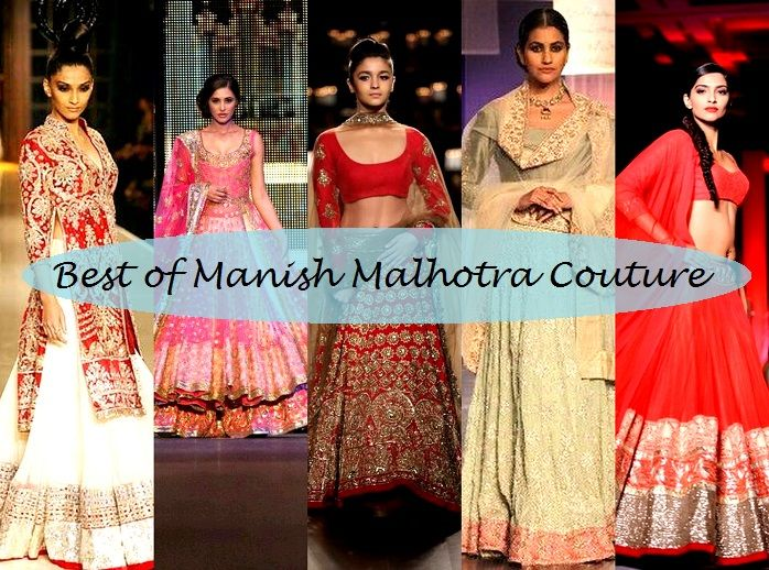 410aed739468 10 Best Manish Malhotra Bridal Collection Lehenga Designs with Price ...