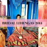 12 Best Bridal Lehenga Designs 2014-2015