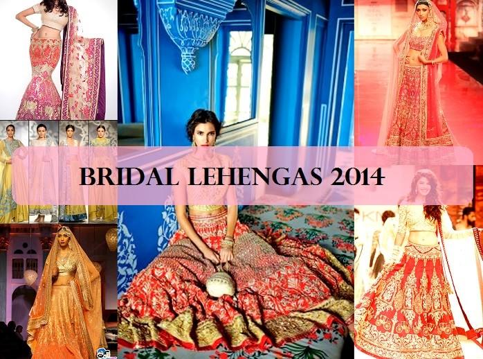 12 Best Bridal Lehenga Designs 2014 2015