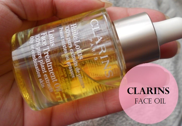 clarins lotus oil review