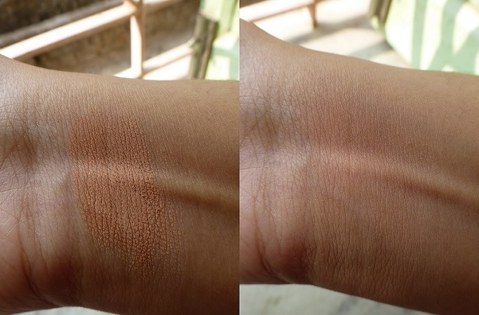 Coloressence-Panstick-Review-swatches-before-after