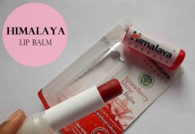 Himalaya-Herbals-Strawberry-Shine-Lip Balm-Review-Swatches-price