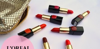 LOreal-Collection-Star-Red-Lipsticks-Shades-Review-Swatches-price