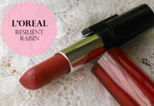 LOreal-Infallible-Le-Rouge-Lipstick-Resilient-Raisin-Review-Swatches-india