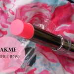 Lakme Absolute Gloss Addict Lipstick Desert Rose: Review and Swatches