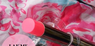 Lakme-Absolute-Gloss-Addict-Lipstick-Desert-Rose-review-swatches-price