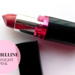 Maybelline ColorShow Lipstick Midnight Pink: Review and Swatches