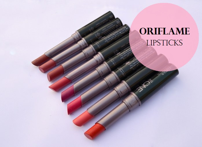 Oriflame-The-One-Colour-Unlimited-Lipsticks-Reviews-Swatches-Shades-Price
