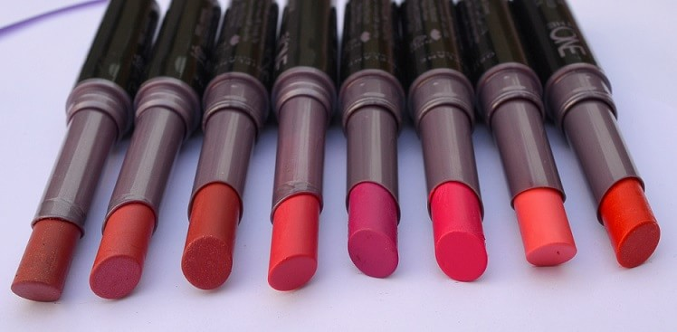Oriflame-The-One-Colour-Unlimited-Lipsticks-Reviews-Swatches-Shades