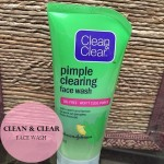 Clean & Clear Pimple Clearing Face Wash: Review, Price