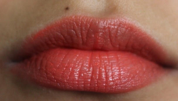 Colorbar-Creme-Touch-Lipstick-Go-Orange-Review-Swatches-lips