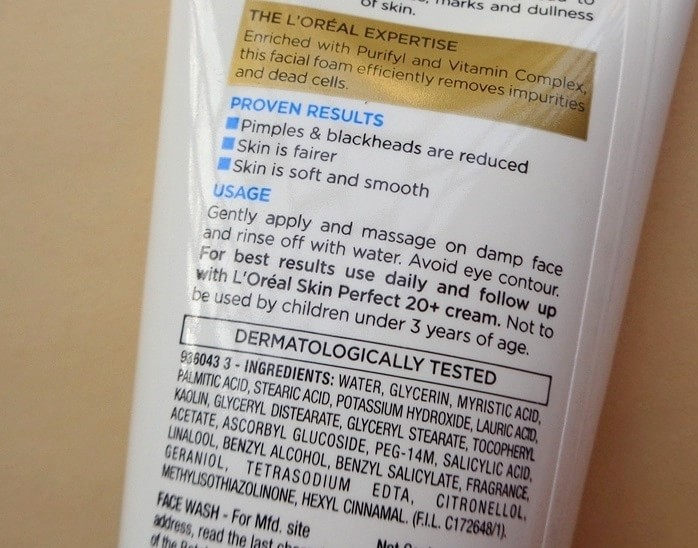 LOreal-Skin-Perfect-Pimple-Reduction-And-Whitening-Facial-