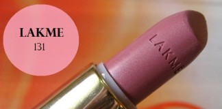 Lakme-Enrich-Satin-Lipstick-131-review-swatches-price