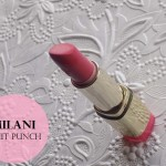 Milani Color Statement Lipstick Review, Swatch: Fruit Punch