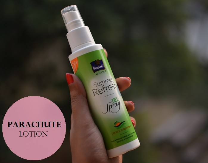 Parachute-Advanced-Summer-Refresh-Body-Lotion-Spray-Review-Price