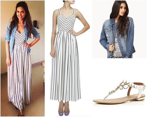 esha-gupta-how-to-wear-maxi-dress
