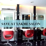 Lakme Salon 50% Discount Offer 2015