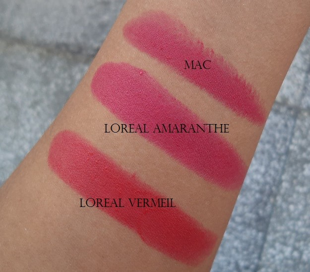 loreal-paris-pure-amaranthe-pure-vermeil-lipstick-review-swatches