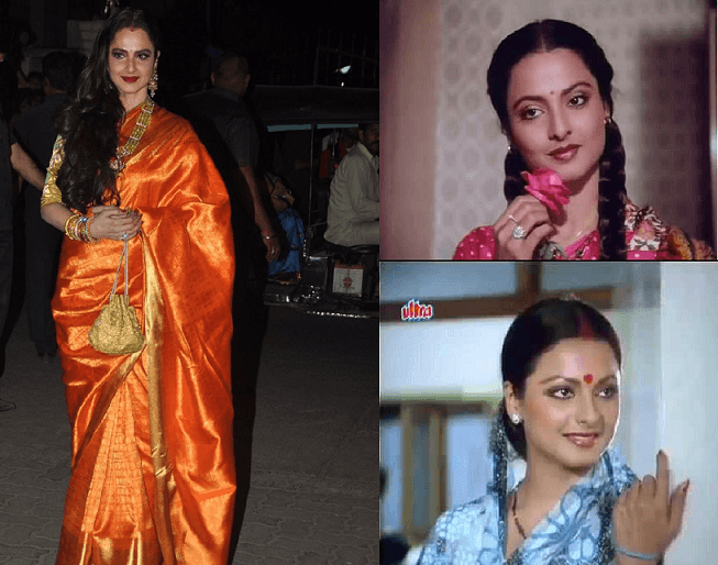 rekha-then-and-now-bollywood-actresses