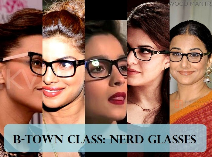 Top 12 Bollywood Actresses Rocking Nerd Glasses Trend Indian