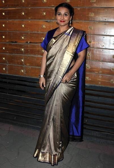 vidya-dress-filmfare-awards-2015