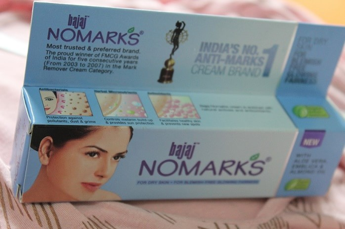 Bajaj-Nomarks-Cream-for-dry-skin-Review-price